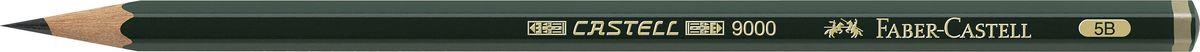 Faber-Castell Карандаш чернографитный Castell 9000 твердость 5BAP-ACP105-18_2Faber-Castell Castell 9000 - шестигранный графитный карандаш наивысшего качества с долголетней традицией. Пригодны не только для письма, но и для эскизов и рисования. Покрыты лаком на водной основе в интересах защиты окружающей среды. Специальная SV технология вклеивания грифеля предотвращает его поломку при падении. Высокое качество мягкой древесины обеспечивает легкое затачивание.