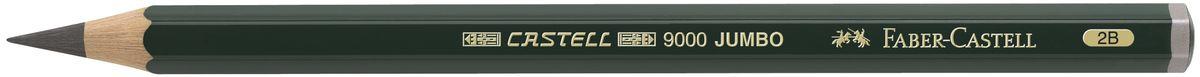 Faber-Castell Карандаш чернографитовый Castell 9000 Jumbo 11930272523WDЧернографитовый карандаш Faber-Castell Castell 9000 Jumbo предназначен не только для письма, но и для эскизов и рисования.Специальная SV технология вклеивания грифеля предотвращает его поломку при падении, а высокое качество мягкой древесины обеспечивает легкое затачивание.Такой карандаш с чистым графитом не царапает бумагу, ровно и гладко ложится, хорошо штрихует, передавая воздушность и светотени.