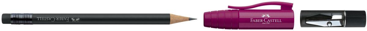 Faber-Castell Карандаш чернографитовый Perfect Pencil II цвет корпуса бордовый72523WDКарандаш чернографитовый Faber-Castell Perfect Pencil II - незаменимый атрибут современного делового человека дома и в офисе.Корпус карандаша имеет колпачок с прочным клипом, который защищает кончик карандаша и одновременно удлиняет его встроенной точилкой. Карандаш оснащен инновационной системой, предотвращающей поломку грифеля.Порадуйте друзей и знакомых, оказав им столь стильный знак внимания.
