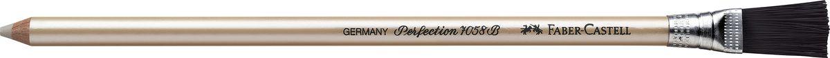 Faber-Castell Корректор-карандаш Perfection185800Корректирующий карандаш Faber-Castell из серии Perfection отлично подойдет для точного стирания мелких деталей.Корректор легко справляется с любыми следами графитовых и цветных карандашей.Правильный подбор корректора и, разумеется, его качество имеет решающее значение для достижения нужного результата. Корректор не содержит вредных для здоровья дополнительных размягчителей. Тем не менее, благодаря сбалансированному сочетанию компонентов, стирает мягко, не размазывая при этом карандаш или чернила.