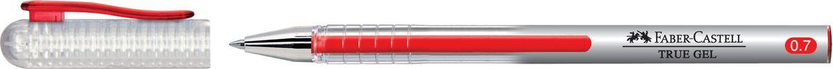 Faber-Castell Ручка-роллер True Gel цвет чернил красныйFS-00103Ручка-роллер Faber-Castell True Gel с наконечником 0,7 мм обеспечивает очень мягкое письмо. Пригодна для письма на документах. Имеет водостойкие и светостойкие чернила. Эргономичная зона захвата обеспечивает комфорт во время письма. Колпачок оснащен упругим клипом.