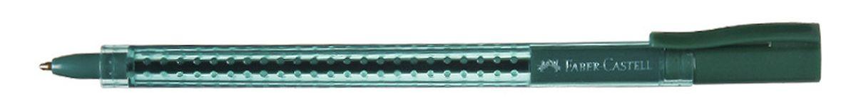 Faber-Castell Ручка шариковая Grip 2020 цвет зеленый72523WDШариковая ручка Faber-Castell Grip 2020 эргономичной трехгранной формы станет незаменимым атрибутом учебы или работы. Прозрачный корпус ручки выполнен из пластика и соответствует цвету чернил. Запатентованная антискользящая зона захвата дополнена малыми массажными шашечками.Высококачественные чернила позволяют добиться идеальной плавности письма. Ручка оснащена упругим клипом для удобной фиксации на бумаге или одежде.