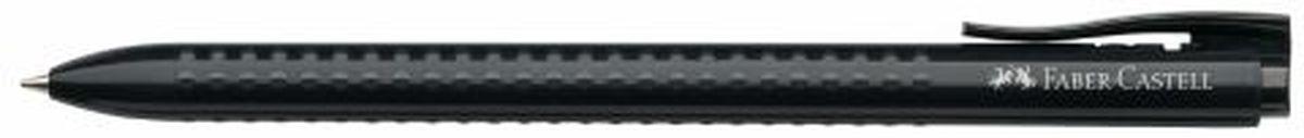 Faber-Castell Ручка шариковая Grip 2022 цвет корпуса черный544699Шариковая ручка Faber-Castell Grip 2022 имеет запатентованную антискользящую зону захвата с малыми массажными шашечками. Эргономичная трехгранная форма, качественный нажимной механизм и упругий клип обеспечат комфорт при использовании ручки. Пригодна для письма на документах.