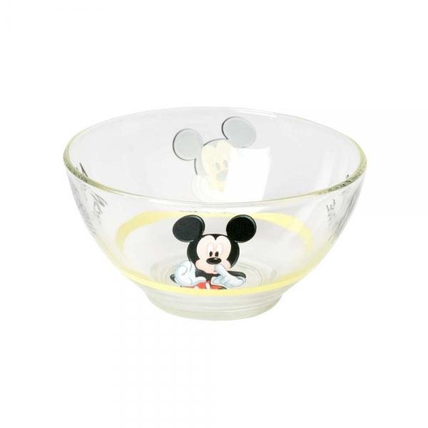 Салатник Luminarc Mickey Colors, 500 мл115510Салатник Luminarc Mickey Colors, объемом 500 мл, порадует вашего ребенка. Идеален для сервировки легких летних салатов. Материал: ударопрочное стекло, устойчивое к резким перепадам температуры.Можно мыть в посудомоечной машине и использовать в СВЧ.