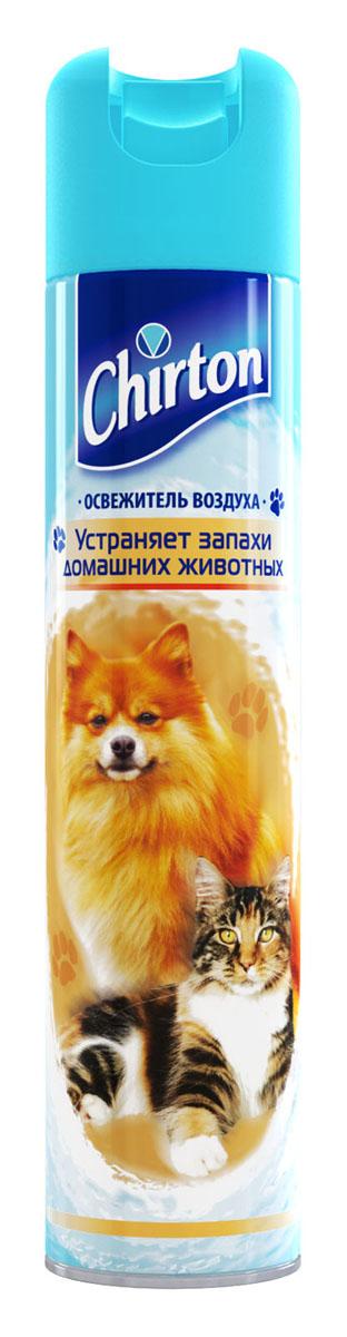 Освежитель воздуха Chirton, от запаха животных, 300 мл65414434/8747871Освежитель воздуха Chirton позволит быстро избавиться от неприятных запахов в любом уголке вашего дома. Легко устраняет неприятные запахи, надолго наполняя дом неповторимым нежным ароматом. Товар сертифицирован.