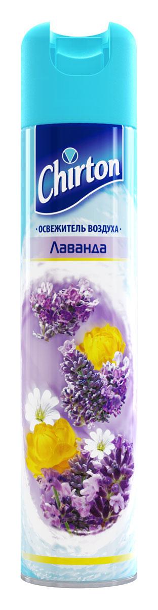 Освежитель воздуха Chirton Лаванда, 300 мл30327Чиртон представляет новейшую серию освежителей для вашего дома с его незабываемыми ароматами на любой вкус. Высокое качество позволит быстро избавиться от неприятных запахов в любом уголке вашего дома. Легко устраняет неприятные запахи, надолго наполняя дом неповторимыми нежными ароматами.