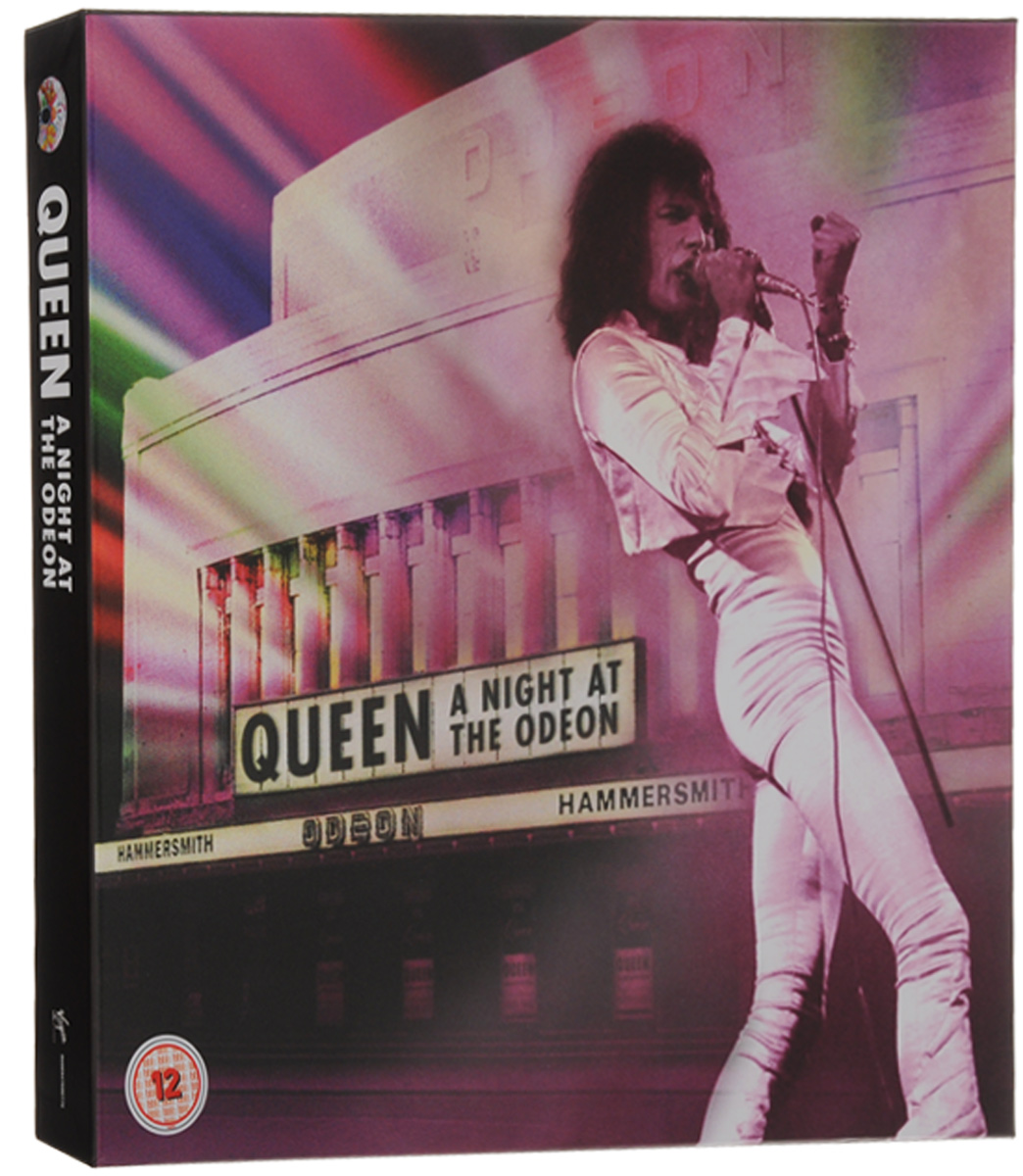 Queen Queen. A Night At The Odeon. Anniversary Limited Edition (CD + LP + DVD + Blu-ray) queen queen a night at the odeon anniversary limited edition cd lp dvd blu ray