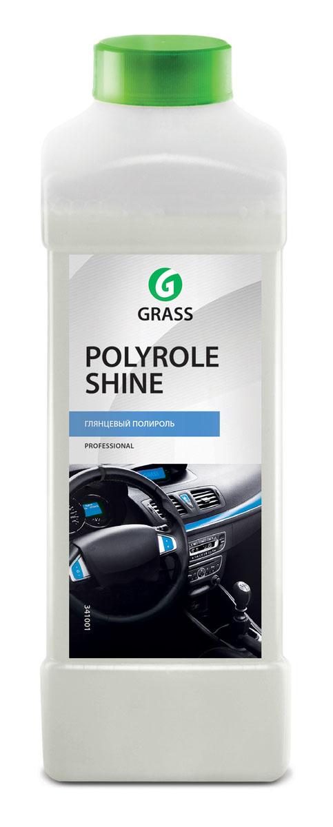 Полироль для кожи, резины и пластика Grass Polyrole Shine, 1 лRC-100BWCПолироль для кожи, резины и пластика Grass Polyrole Shine - это профессиональный глянцевый полироль для обработки приборных панелей, неокрашенных бамперов, покрышек, для очистки и полировки изделий из пластика, кожи, дерева, винила и резины. Сохраняет первоначальный цвет, не оставляет жирных пятен, препятствует оседанию пыли, придает глянцевый блеск. Средство обладает приятным ароматом.Товар сертифицирован.