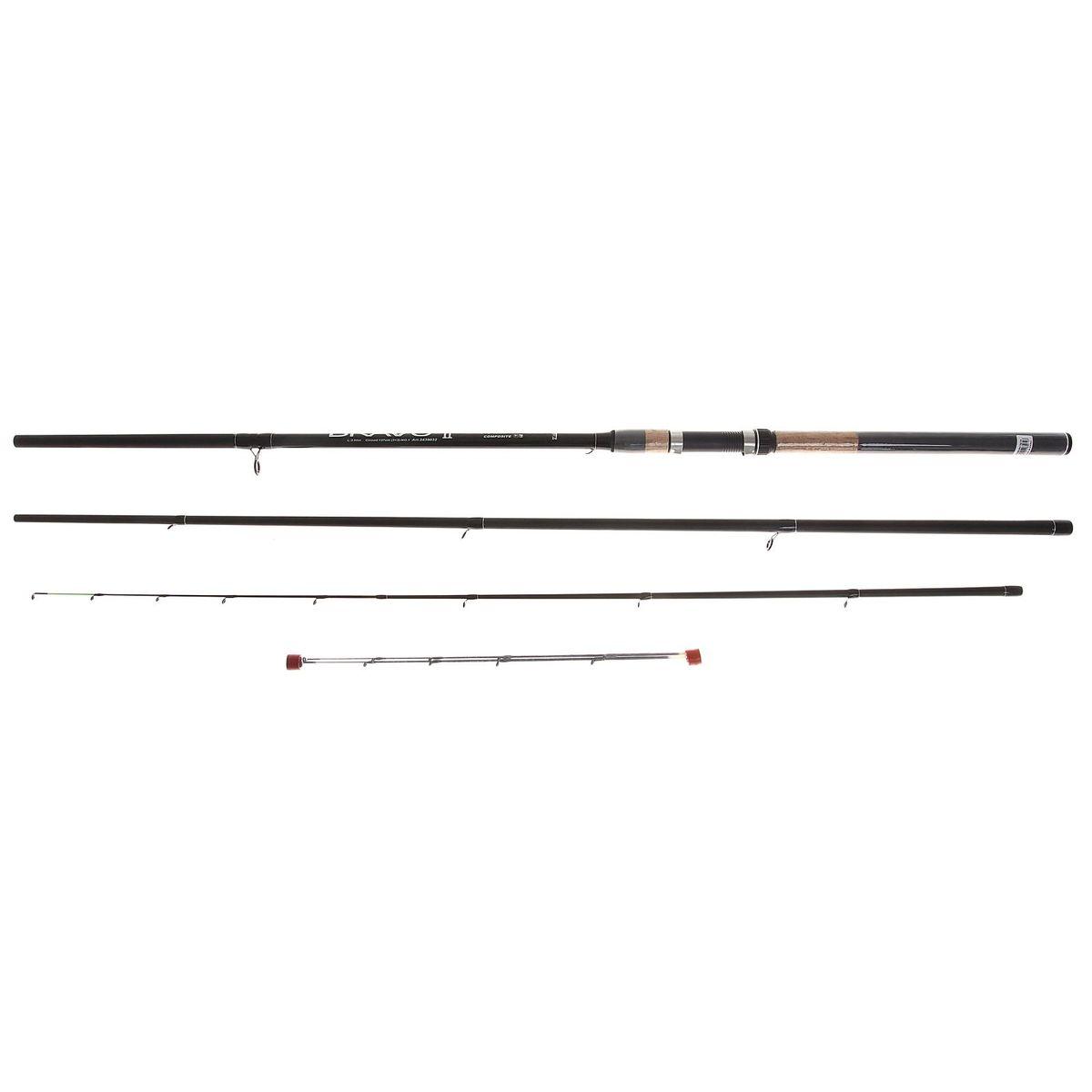 Спиннинг Zhibo Bravo Feeder, 3,6 м4271825Спиннинг ZHIBO Bravo Feeder 3.6м (3+3) 120г 2439032 (D34) Надежный, среднего строя фидер. Рекомендуется для широкого круга рыболовов.