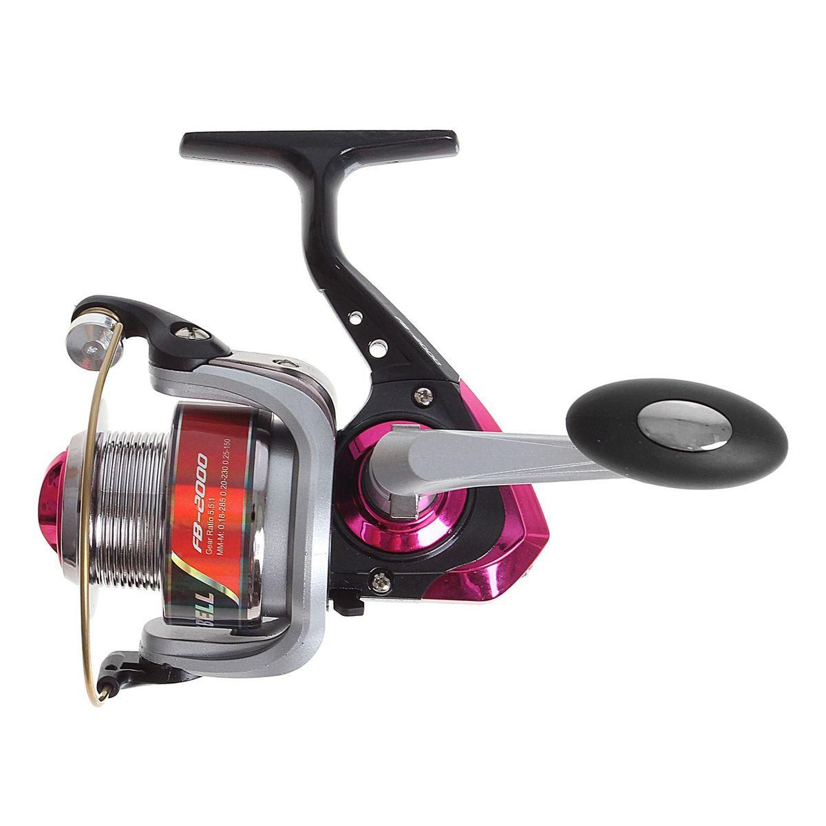 Катушка безынерционная Onlitop 1BB FB 2000, цвет: красный, 1 подшипникMABLSEH10001Катушка 1BB FB 2000, это универсальная модель «эконом»-класса для разных условий рыбалки, отличный выбор для начинающих рыболовов.