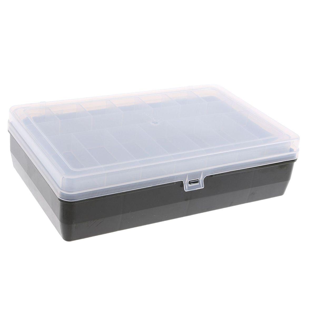 Коробка для крючков и насадок Тривол, двухъярусная , цвет: зеленый, 24х15х6,5 см1252457Коробки для крючков, как и другие аксессуары для рыбалки, помогут сделать процесс подготовки к самой рыбной ловле максимально удобным. Сегодня мы можем предложить всем нашим посетителям такие коробки для крючков, которые идеально подойдут в любое время года, для любого типа рыбалки и помогут вовремя отыскать среди всех снастей именно те, которые необходимы на данный момент.