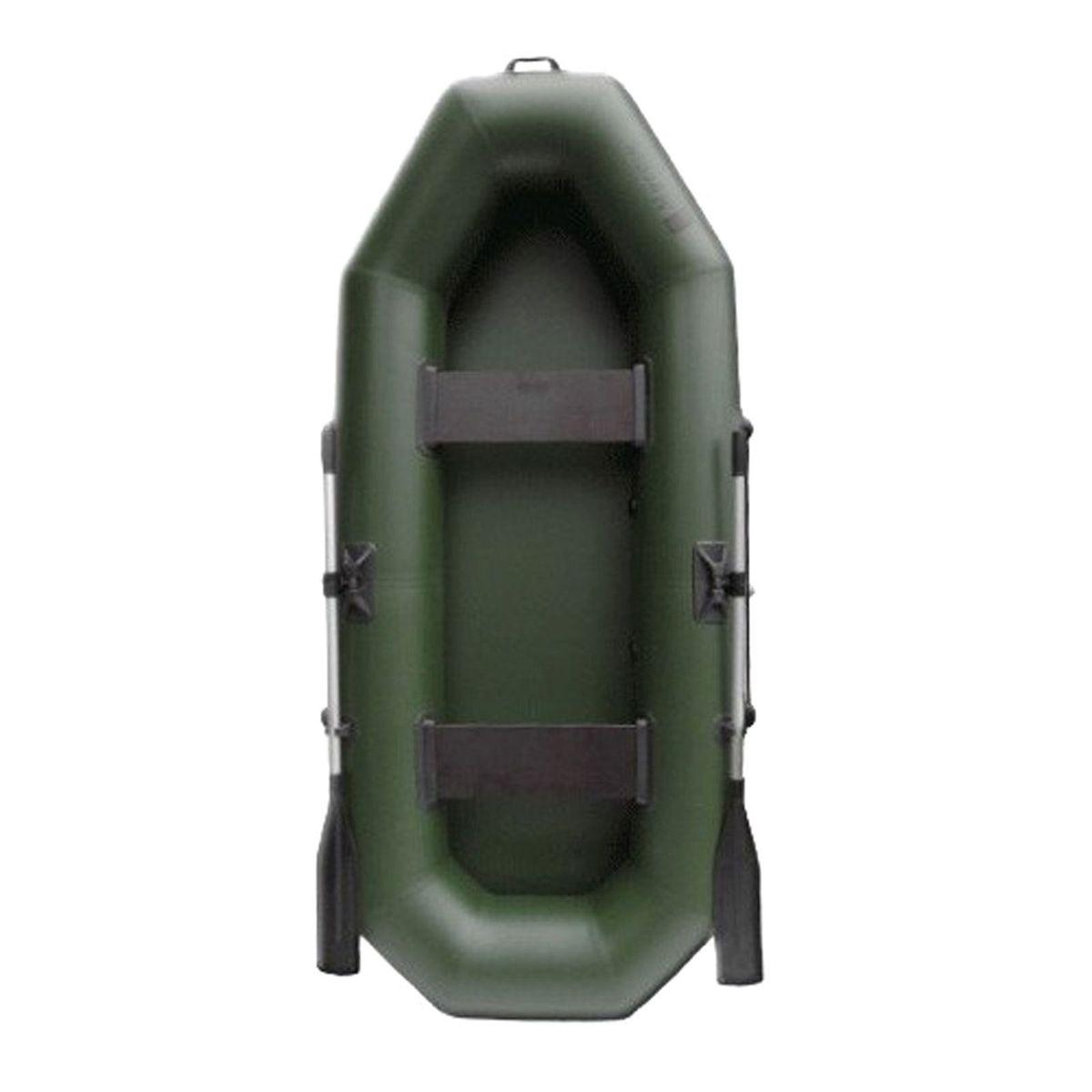 Лодка надувная Муссон S 262, цвет: зеленый885904«Муссон S 262» — гребная лодка, предназначенная для отдыха, охоты и рыбалки на воде. С ней вы сможете заняться любимым делом в любое время и любую погоду, широкий температурный диапазон даёт возможность эксплуатировать изделие с ранней весны до поздней осени. Вместительность лодки позволяет насладиться активным отдыхом двум людям сразу. Отправляйтесь на рыбалку с другом и разделите радость от улова вместе с ним.Современная модель «Муссон S 262» изготовлена из ПВХ, устойчивого к проколам, порезам и ультрафиолетовым лучам, благодаря чему увеличен срок эксплуатации. Расцветка позволяет быть незамеченным на фоне растительности, а значит, вы не спугнёте свою добычу. Данную модель можно хранить длительное время без каких-либо дополнительных обработок поверхности. В комплекте есть разборные вёсла, которые можно сложить и убрать. С поворотными уключинами на бортах и держателями для вёсел управлять лодкой стало ещё проще. Лодка в сложенном состоянии не займёт много места. Данная особенность позволит без труда поместить её в багажник автомобиля или переносить изделие на дальние расстояния.Наслаждайтесь любимым делом с товарами Сима-ленд.ХарактеристикиВместимость: 2 человека.Грузоподъёмность: 220 кг.Масса в комплекте: 14 кг.Количество отсеков: 2.Длина: 265 см.Ширина: 120 см .Диаметр баллона: 33 см.Плотность ткани: 750 г/м?.КомплектацияАлюминиевые вёсла: 2 шт.Сиденья: 2 шт.Поворотная уключина: 2 шт.Насос: 1 шт.Ремкомплект: 1 шт.Сумка упаковочная: 1 шт.