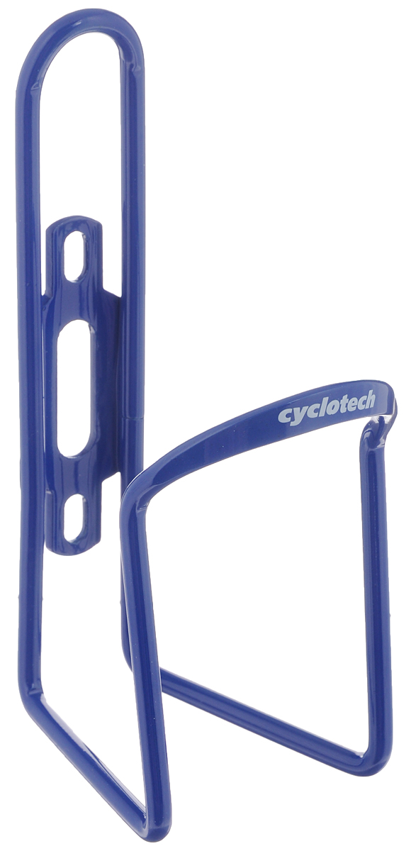 Флягодержатель Cyclotech, цвет: синийMW-1462-01-SR серебристыйУниверсальный флягодержатель Cyclotech, выполненный из прочного металла, способен удерживать не только велофлягу, но и обычные пластиковые бутылки, закрепляется на раме велосипеда с помощью двух шурупов (в комплект входят). Это незаменимая вещь для спортсменов и любителей длительных велосипедных прогулок. Благодаря держателю, фляга с водой будет у вас всегда под рукой.