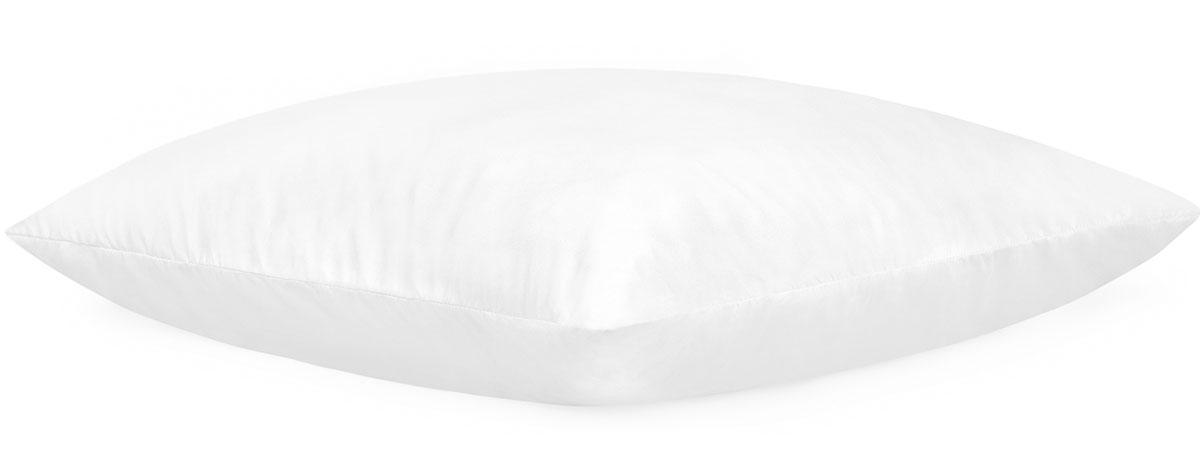 Подушка Daily by Togas Бамбук, наполнитель: полиэфирное волокно, цвет: белый, 70 х 70 смS03301004Подушка Daily by Togas Бамбук - это целительный эффект каждой ночи, легкость и бодрость вашего утра! Микрофибра, из которой выполнен чехол, - это высокотехнологичный, прочный материал, получаемый благодаря определённым процессам расслоения волокна. Его главные достоинства - экологическая чистота, гипоаллергенность, гигиеничность. В качестве наполнителя использовано полиэфирное волокно, известное долговечностью и способность на протяжении многих лет сохранять упругость и первоначальный объем; его отличает мягкость и воздушная легкость. Пропитка Бамбук повышает антибактериальные свойства как самой ткани, так и наполнителя, оказывает противовоспалительный и антисептический эффект. Подушка Бамбук - это союз природы и технологий на страже вашего здоровья!