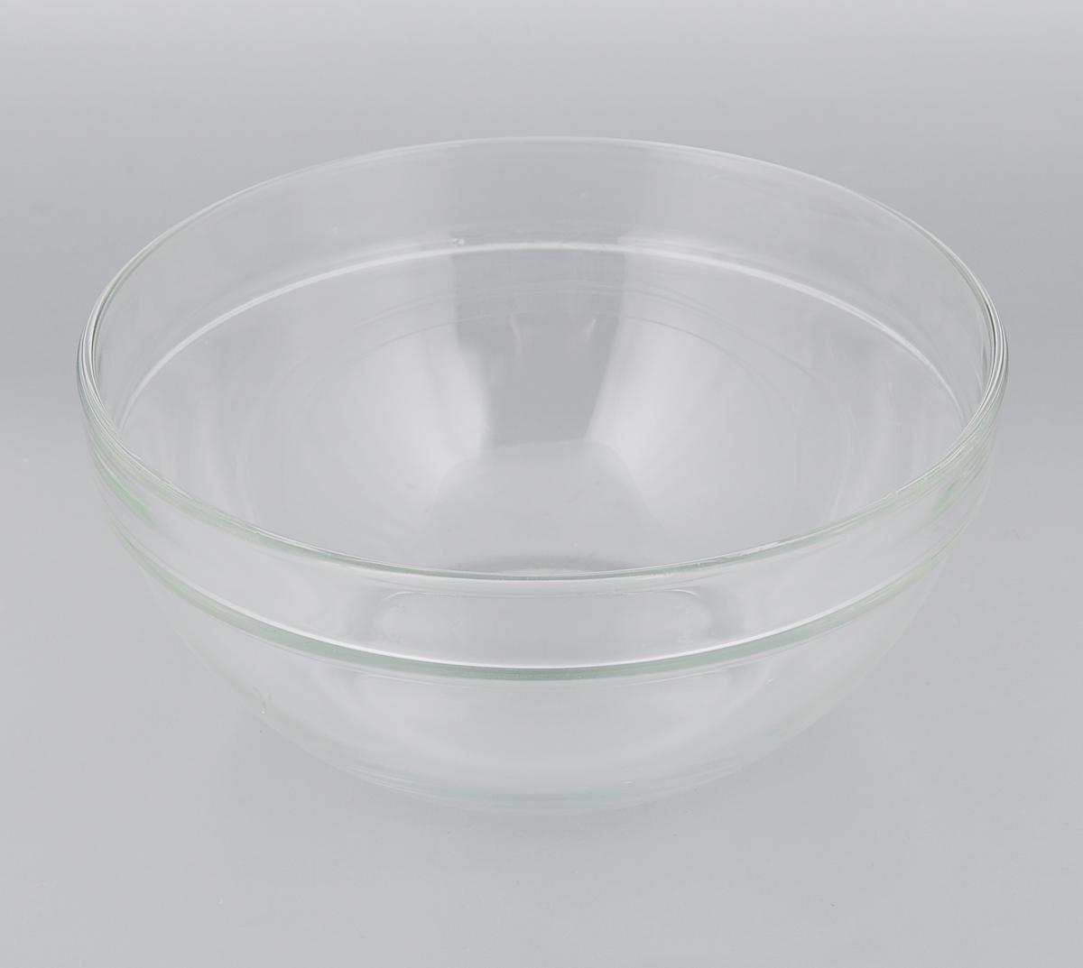 Салатник Luminarc Эмпилабль, диаметр 20 см. 73112RO-7201/2-2Салатник Luminarc Эмпилабль выполнен из ударопрочного стекла. Изделие придется по вкусу и ценителям классики, и тем, кто предпочитает утонченность и изысканность. Салатник Luminarc Эмпилабль идеально подойдет для сервировки стола и станет отличным подарком к любому празднику.Диаметр (по верхнему краю): 20 см.