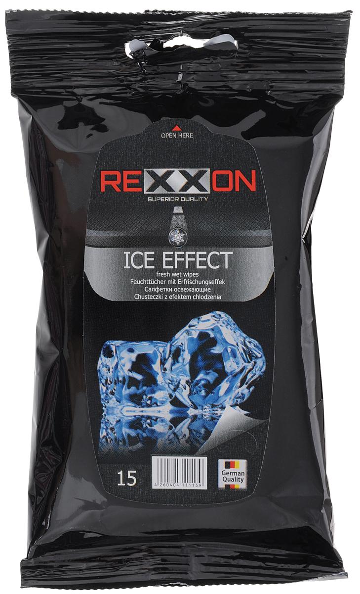 Салфетки влажные Rexxon Ice Effect, гигиенические, 15 шт5010777139655Влажные салфетки Rexxon Ice Effect изготовлены из нетканого материала и пропитывающего лосьона. Они предназначены для очищения и тонизирования кожи рук и лица. Снимают чувство усталости и напряжения, гипоаллергенны.Салфетки Rexxon Ice Effect подходят для всех типов кожи.Состав пропитывающего лосьона: деминерализованная вода, пропиленгликоль, алкилполиглюкозид, феноксиэтанол, бензоат натрия, отдушка, ЭДТА. Товар сертифицирован.