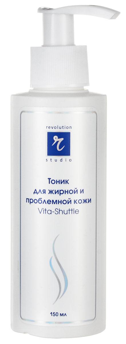 R-Studio Тоник очищающий для жирной и проблемной кожи Vita-Shuttle 150 млFS-00897Тоник имеет многокомпонентный, хорошо сбалансированный состав разнонаправленного действия. Он завершает процесс очищения - очищает поры и снимает остатки очищающих средств. Он регулирует тонус и рН кожи, освежает, смягчает и увлажняет кожу, устраняет ее покраснение и раздражение.