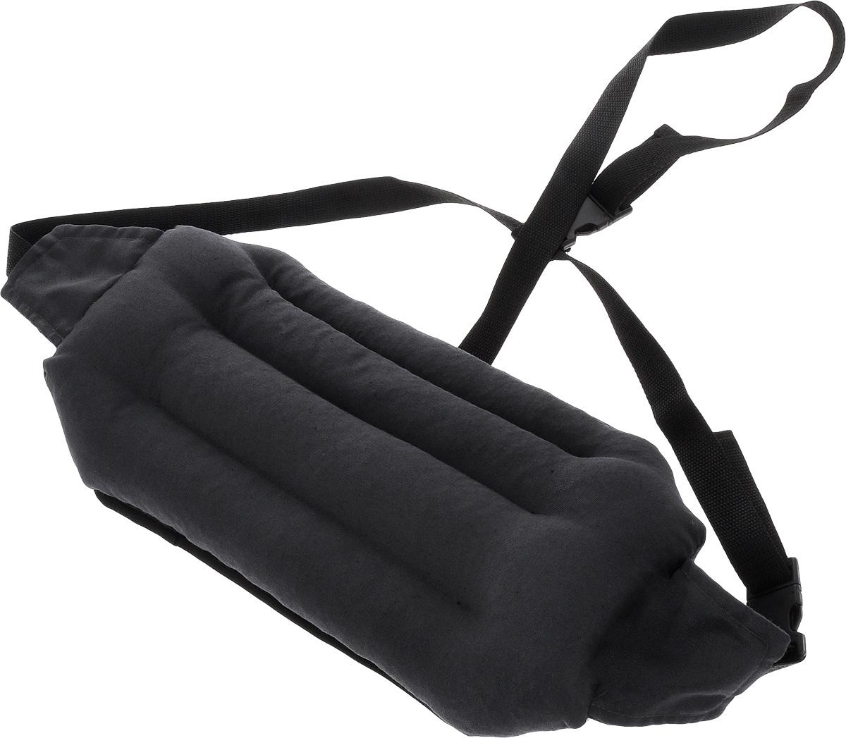 Подушка под спину Smart Textile Офис, наполнитель: лузга гречихи, 40 х 20 см115510Подушка под спину Smart Textile Офис предназначена для людей, которые много времени проводят сидя на стуле или офисном кресле. Конструкция подушки выполнена таким образом, чтобы поясничная зона чувствовала себя максимально комфортно. Поддерживается естественный изгиб позвоночника, что способствует профилактике остеохондроза, уменьшается боль в пояснице. Можно регулировать объем подушки, подгоняя ее под свои анатомические изгибы поясницы. Удобные завязки позволяют регулировать ее положение на любом кресле.Подушка заполнена лепестками гречишной лузги, которая обладает множеством полезных качеств:- Хорошо проветривается.- Предупреждает потение.- Поддерживает комфортную температуру.- Обминается по форме тела.- Обеспечивает микромассаж.- Улучшает кровообращение.- Исключает затечные явления.Подушка также будет полезна и дома - при работе за компьютером, школьникам - при выполнении домашних работ.Чехол подушки выполнен из смесовой ткани.