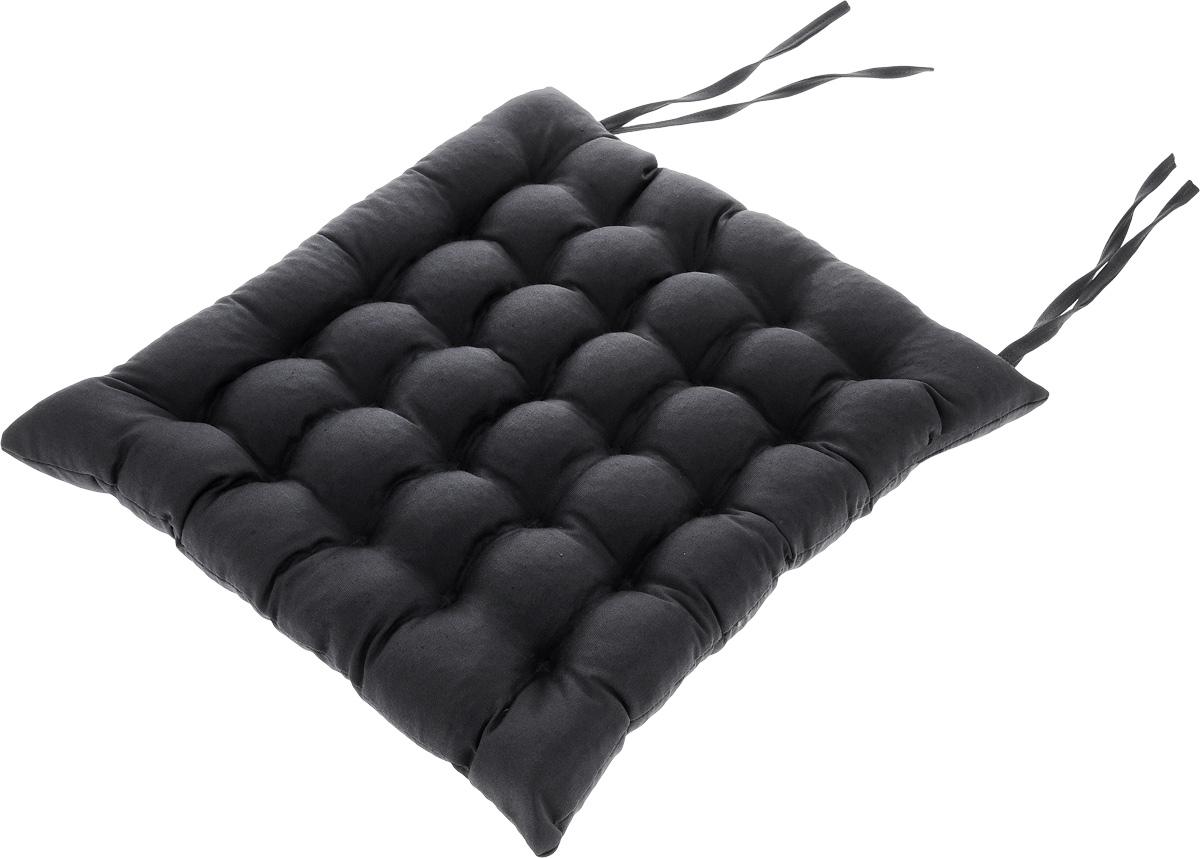 Подушка на стул Smart Textile Уют, с завязками, наполнитель: лузга гречихи, 40 х 40 см1004900000360Квадратная подушка Smart Textile Уют выполнена из хлопчатобумажной ткани и полиэстера, внутри - наполнитель из лепестков гречишной лузги. Изделие простегано на ячейки, тем самым обеспечивая еще больший массажный эффект, а плотная износостойкая ткань хорошо удерживает наполнитель, сохраняет форму и обеспечивает долгий срок службы.Такая подушка обладает множеством полезных качеств:- Хорошо проветривается;- Предупреждает потение;- Поддерживает комфортную температуру; - Обминается по форме тела; - Обеспечивает микромассаж; - Улучшает кровообращение;- Исключает затечные явления;- Предупреждает развитие заболеваний, связанных с сидячим образом жизни. Подушка Smart Textile Уют прекрасно подходит для любых стульев и кресел, а завязки помогают зафиксировать положение на сидении. Застежка-молния позволяет регулировать плотность наполненности. Подушка упакована в пластиковую сумку-чехол на застежке-молнии с ручкой для комфортной переноски и хранения. Рекомендации по уходу: - Стирка запрещена,- Нельзя отбеливать,- Не гладить,- Химчистка только с использованием углеводорода, хлорного этилена,- Сушить на горизонтальной поверхности. Материал чехла: смесовая ткань (51% хлопчатобумажная ткань, 49% полиэстер). Материал наполнителя: лузга гречихи.