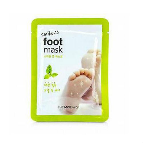 The Face Shop Маска для ног Smile Foot, 18 млAC-2233_серыйСпециальная маска для кожи ног пропитана маслом дерева ши и маслом мяты. Смягчает кожу ног, ухаживает за ногтями. Дарит ногам ощущение свежести.