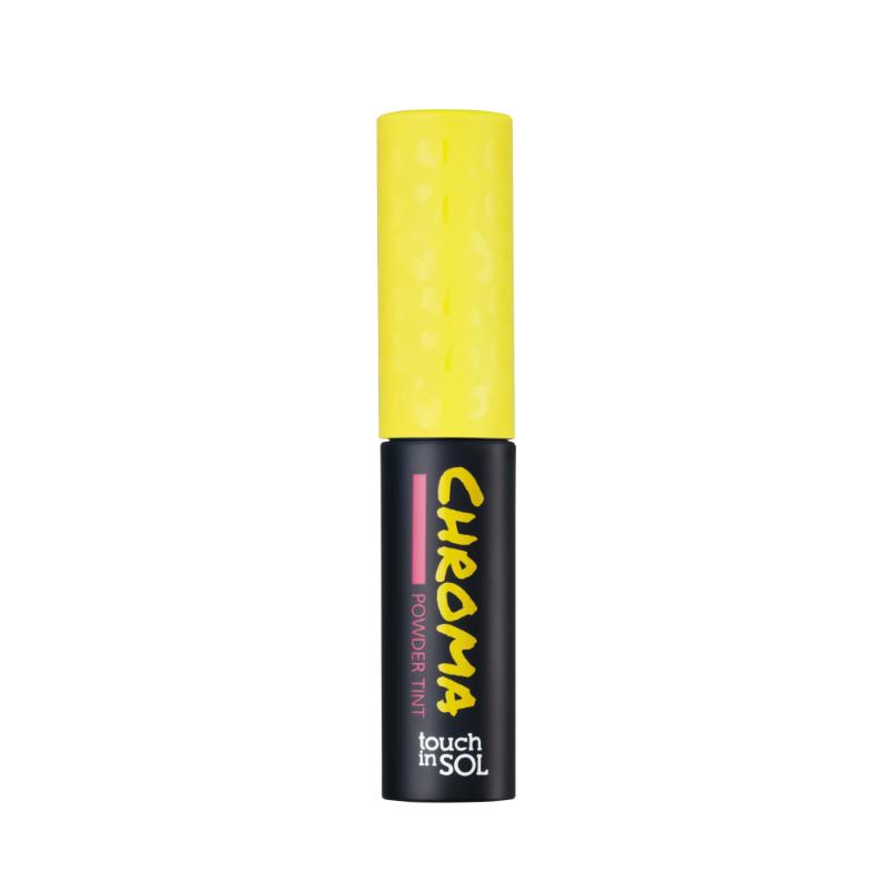 Touch in SOL Пудровый тинт для губ Chroma Powder, цвет: №8 Lydia, 2,5 гSatin Hair 7 BR730MNИнновационный пудровый тинт при контакте с кожей обеспечивает насыщенный стойкий матовый цвет. Легко наносится, имеет водостойкую формулу, а интенсивность цвета и дополнительное увлажнение достигается при помощи гидролизованного коллагена. В момент прикосновения меняет текстуру на водную Пудровые капсулы тинта, соприкасаясь с кожей, превращаются в воду, обеспечивая насыщенность и стойкость цвета, а также и увлажненность губ. Водостойкая формула на губах и щеках. Пудровый тинт универсален, 2 в 1 тинт и румяна. Средство наносится как на губы, так и на скулы. Насыщенность цвета регулируется при помощи аппликатора. Получить нужный вам оттенок теперь легко и просто, нанесите необходимое количество пигмента на губы.