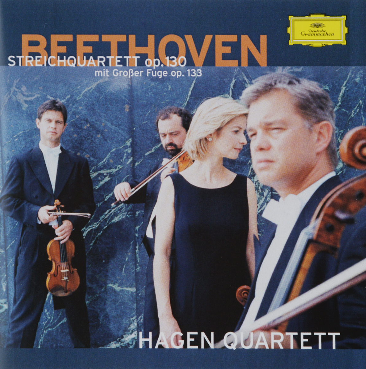 HAGEN QUARTETT. BEETHOVEN: OP. 130, OP. 133 argerich maisky beethoven cello son op 69 102