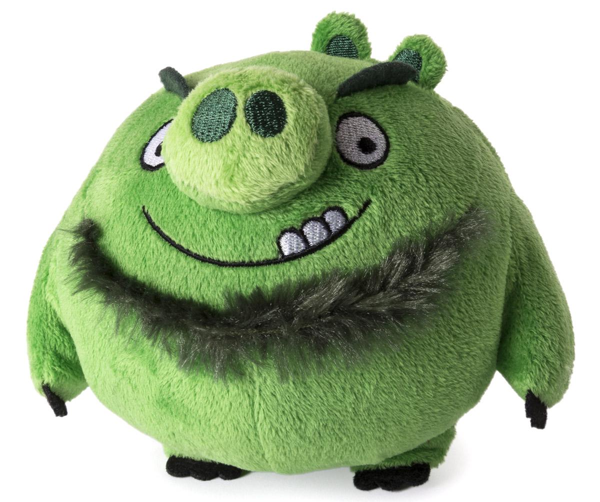 Angry Birds Мягкая игрушка Свинья с бородой 13 см