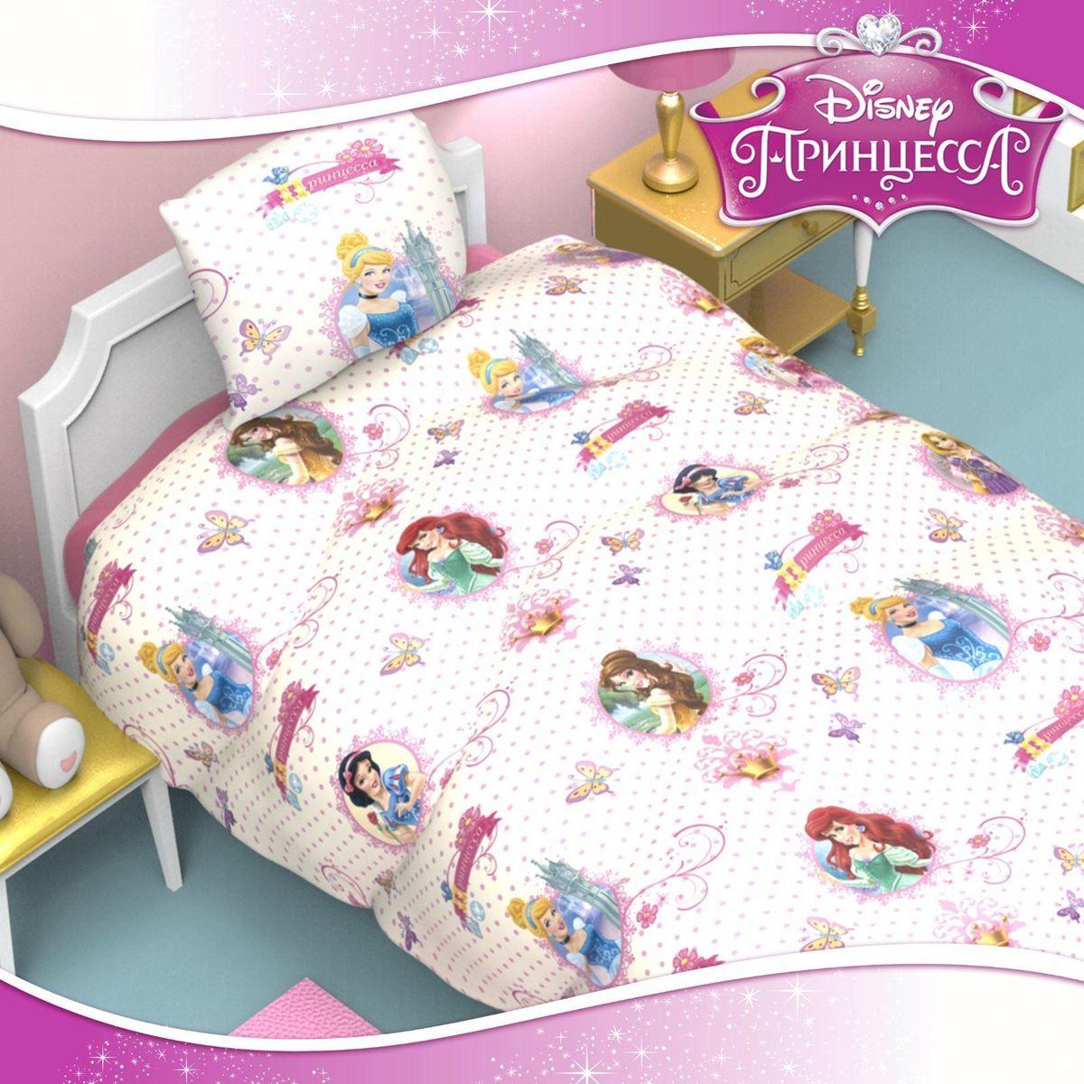 Disney Подушка Принцессы 50 х 70 см цвет белый