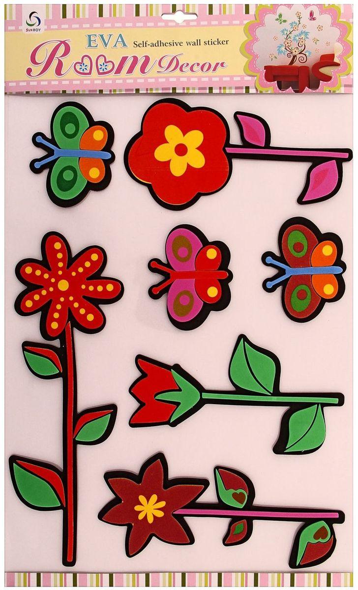 Наклейка интерьерная Цветочная фантазия МИКС 54,5х34 см300194_фиолетовый/веткаНаклейка интерьерная - именно то, что раскрасит серые будни яркими красками. Создайте для себя и своих близких атмосферу праздника. Данный товар соответствует российским стандартам качества, вам не придётся краснеть за такой подарок. Это уникальный товар по выгодной цене, который вы можете купить оптом у нас уже сегодня.