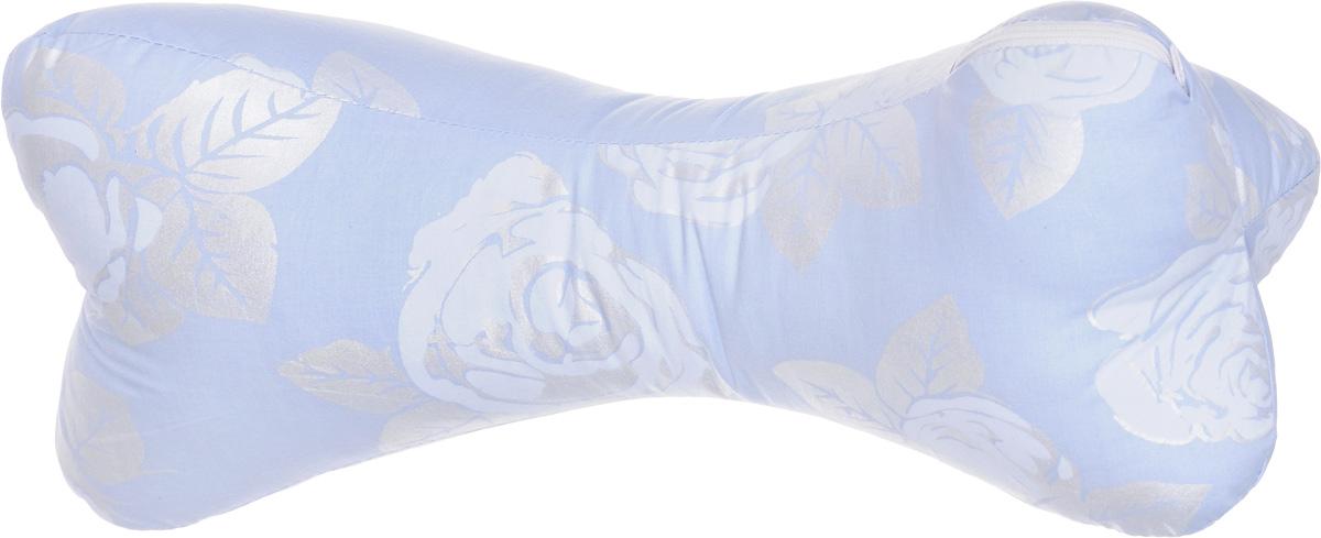 Подушка-валик Smart Textile Косточка, наполнитель: бамбуковое волокно, 20 х 38 см531-105Подушка-валик Smart Textile Косточка с наполнителем из бамбукового волокна - универсальное средство от болей в шее, в дороге и дома. Она обеспечивает комфортный отдых, поддерживает шею и голову, уменьшая нагрузку на шейный отдел позвоночника, восстанавливает мышечный тонус.Материал чехла подушки: тиковая ткань (х/б).Бамбуковое волокно - это экологически чистый наполнитель, не вызывающий аллергии. Обладает гигроскопичностью (хорошо впитывает влагу и быстро ее испаряет), не накапливает пыль и запахи, остается свежим, хорошо вентилируется.Рекомендации по уходу:Обычная стирка при температуре воды до 40°.Отбеливание и глажка запрещены.Рекомендуется сушка на горизонтальной плоскости в тени.Разрешена обычная химчистка.