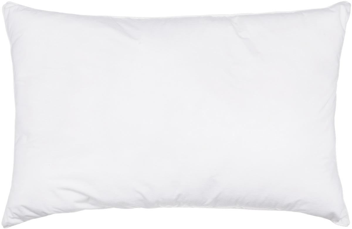 Подушка Smart Textile Эко-сон, наполнитель: искусственный лебяжий пух, 38 х 58 смCLP446Подушка Smart Textile Эко-сон выполнена из тенселя - ткани натурального происхождения, которая изготовлена из древесного австралийского эвкалипта и подвержена нанообработке. Верхний слой подушки - 100% натуральный Tentel, покрытый дышащей водооталкивающей полиуретановой оболочкой.Подушка обладает антибактериальной активностью к культурам St.aureus (Золотистый стафилококк) и Kl.pneumonia (Клебсиелла пневмания).Подушка разработана с учетом особенностей кожи людей-аллергиков. Аллергия - это довольно неприятное явление для человека, обладающего повышенной чувствительностью к какому-либо компоненту окружающей его среды. Одним из самых распространенных аллергенов - это пыль, а точнее пылевые клещи, которые и вызывают недомогания. Лечение аллергии - довольно сложный процесс. Поэтому эффективнее всего будет профилактика аллергии. Лучший способ предотвратить возникновение аллергической реакции - избегать контакта с аллергеном или, по крайней мере, свести эти контакты к минимуму. Подушка послужит средством барьерной защиты от бытовых аллергенов. Ткань непроницаема для клеща, домашней пыли и аллергенов. При этом она сохраняет проницаемость для воздуха и паров воды. Клещ не получает основную его пищу - мельчайшие частицы нашей кожи, поэтому быстро гибнет. Рекомендации по уходу:Деликатная стирка при температуре воды до 60°.Отбеливание запрещено.Разрешены деликатная барабанная сушка, деликатная химчистка, и глажка при температуре подошвы утюга до 150°.