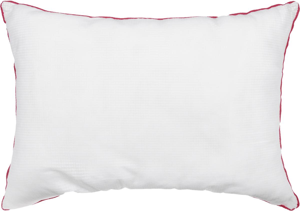 Подушка Smart Textile Невесомость, наполнитель: искусственный лебяжий пух, 50 х 70 см531-105Подушка Smart Textile Невесомость выполнена из ткани Outlast.Технология терморегуляции Outlast инновационная и эффективная.Такая технология рассчитана таким образом, чтобы обеспечить комфортную для человека температуру. Вы будете уютно чувствовать себя в любую погоду во время сна. Ткань Outlast способна сохранять излишки тепла тела и при необходимости высвобождать его наружу.Для подушки используется экологически чистый наполнитель - искусственный лебяжий пух. В нем не заводятся вредные насекомые, поэтому именно такой наполнитель является оптимальным решением для аллергиков. За таким наполнителем легко ухаживать, даже после многочисленных стирок он не собьется и не потеряет своего объема.