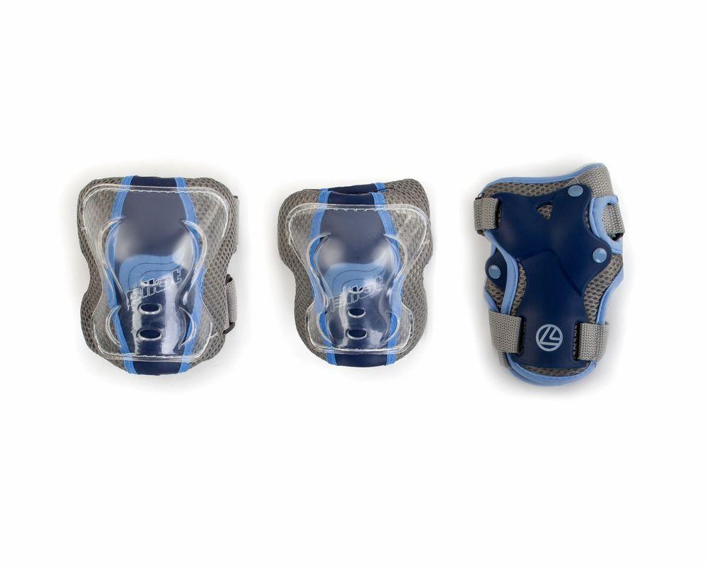 Защита роликовая Larsen P10Pilot. Размер XS220911Роликовая защита Larsen P10Pilot состоит из налокотников, наколенников и защиты запястья. Такая роликовая защита будет отличным дополнением к Вашим роликам. Налокотники (2 шт), наколенники (2 шт), защита запястья (2 шт).