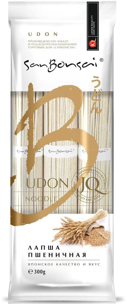 SanBonsai Udon лапша пшеничная, 300 г