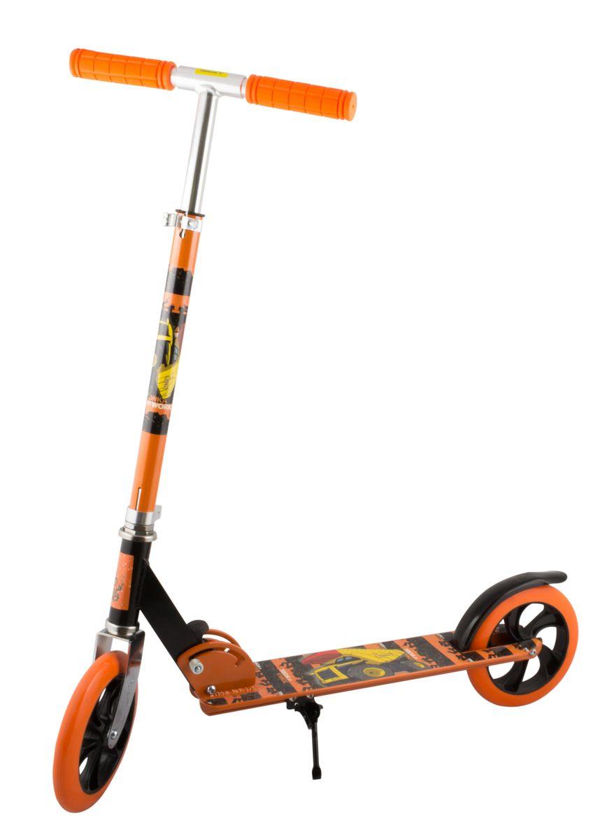 Самокат 2-колесный SC-02 (200 мм), цвет: оранжевыйRA-Самокат 2-х колесный SC-02 (200 мм) - это двухколесная модель с колесами 200-мм для взрослых и детей. Эргономичные резиновые грипсы. Телескопический руль. Удобная система складывания. Алюминиевая дека. Металлический тормоз. Полиуретановые 200-мм колеса. Подножка для устойчивости самоката. Подшипники ABEC 7 для быстрой и плавной езды.Технические характеристики:Дека: алюминийРучки: резинаРуль: алюминийМатериал колеса (внутр): полипропиленМатериал колеса (внешний): полиуретанРегулировка руля: естьСистема складывания: естьРазмер колеса, мм: 200Подшипники: Abec-7Цвет: оранжевыйВес, гр: 3350Производство: КНРЕд. изм: шт.Кратность товара: 1Количество в коробке: 6