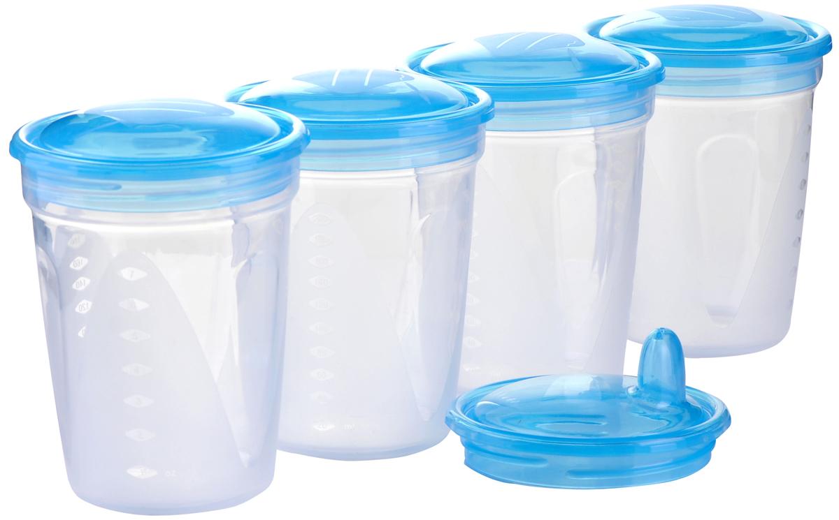 BabyOno Контейнеры для молока и детской еды 4 шт