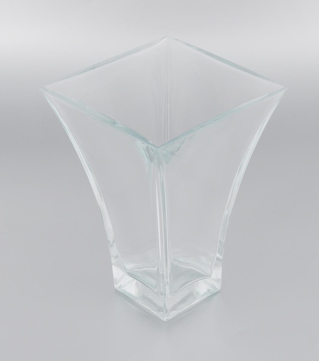 Ваза Pasabahce Botanica, высота 20 см. 80149B54 009312Элегантная ваза Pasabahce Botanica выполнена из высококачественного натрий-кальций-силикатного стекла.Изделие придется по вкусу и ценителям классики, и тем, кто предпочитает утонченность и изящность. Вы можете поставить вазу в любом месте, где она будет удачно смотреться и радовать глаз. Такая ваза подойдет для декора интерьера. Кроме того - это отличный вариант подарка для ваших близких и друзей. Можно мыть в посудомоечной машине.Высота вазы: 20 см.Размер вазы (по верхнему краю): 14,5 х 14,5 см.