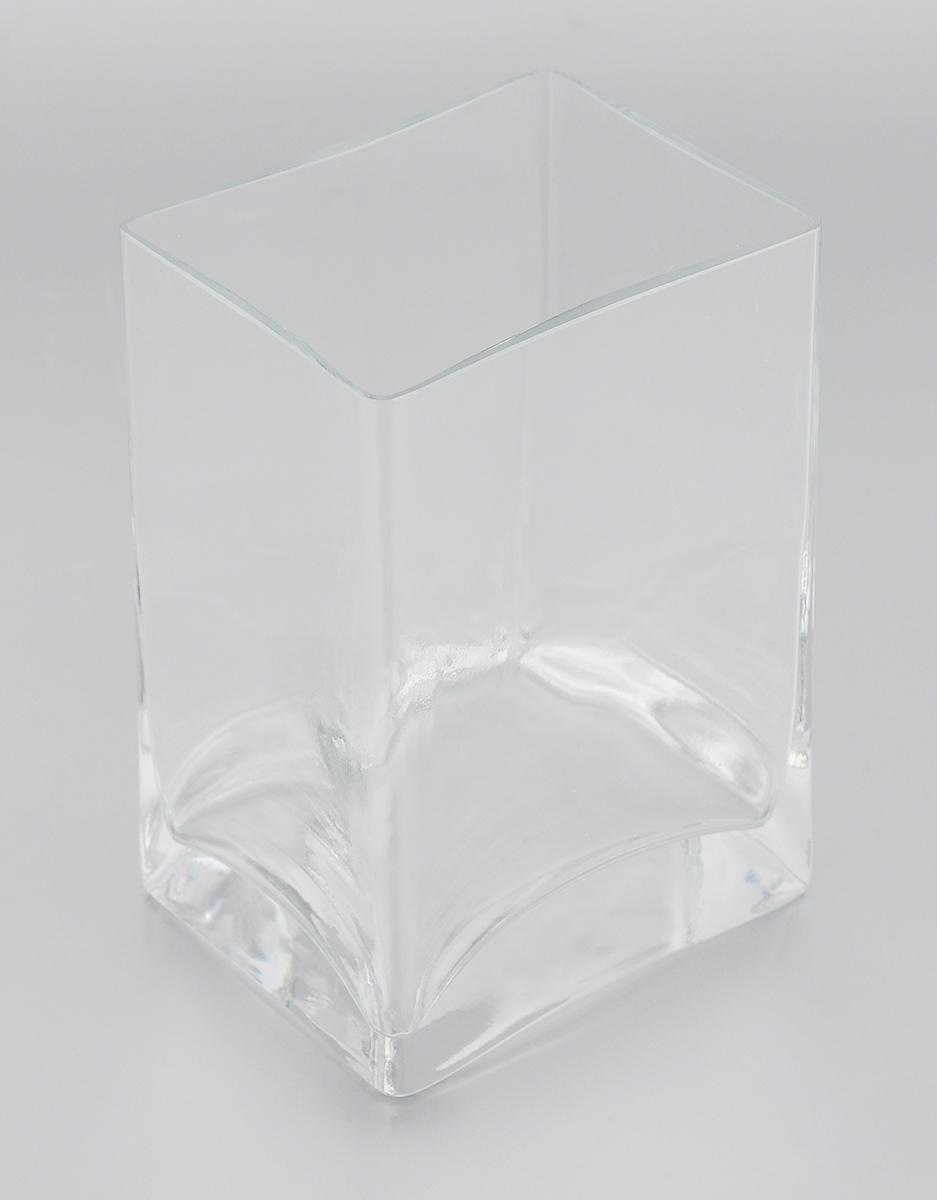 Ваза Pasabahce Botanica, высота 14 смFS-80418Ваза Pasabahce Botanica, выполненная из натрий-кальций-силикатного стекла, сочетает в себе изысканный дизайн с максимальной функциональностью. Ваза прямоугольной формы имеет гладкие прозрачные стенки. Такая ваза придется по вкусу и ценителям классики, и тем, кто предпочитает утонченность и изысканность.Можно мыть в посудомоечной машине. Размер вазы по верхнему краю: 10 х 8 см.Высота: 14 см.