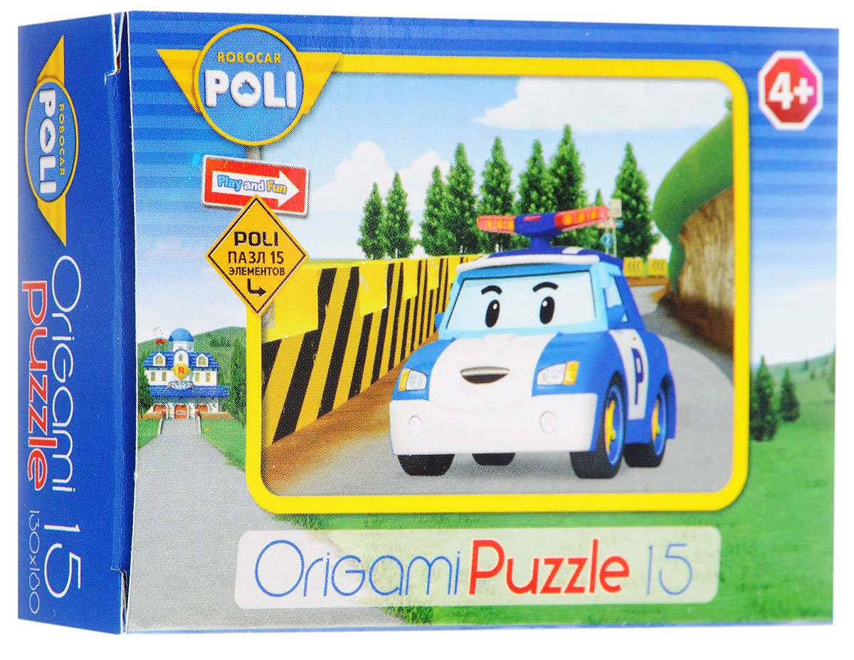 Оригами Мини-пазл Robocar Poli Полицейская машина 00176