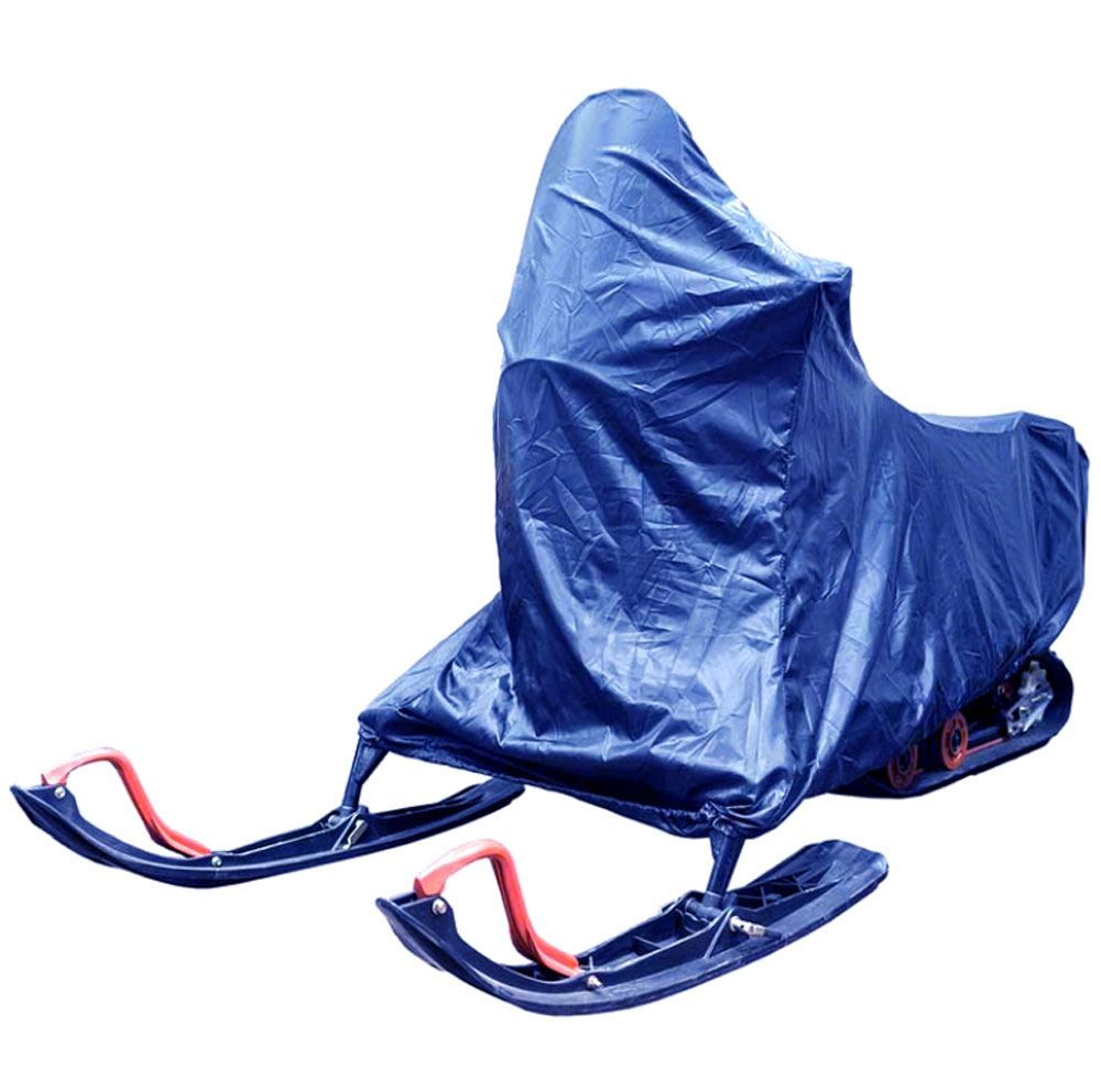 Чехол AG-brand для снегохода Irbis Dingo 150, цвет: синийЛЦ0026Чехлы для хранения снегоходов Ibis Dingo изготовлены из водонепроницаемой ткани.Резинка по нижнему краю чехла предотвратит срывание чехла порывами ветра во время уличного хранения
