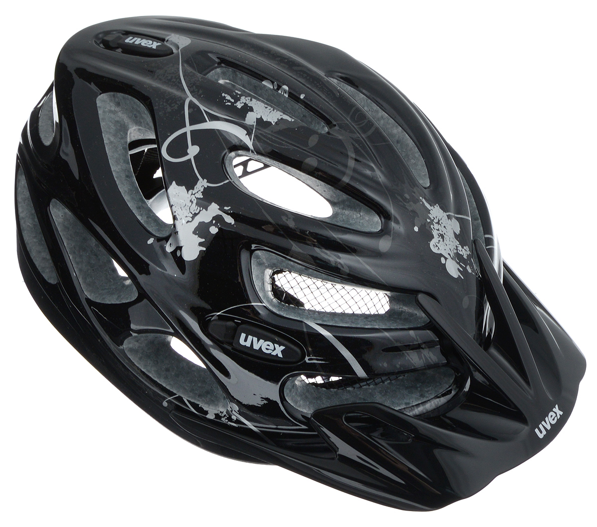 Шлем летний Uvex Onyx, цвет: черный, серебристый. Размер XXS-SRivaCase 7560 blueШлем Uvex Onyx конструкции Inmould предназначен исключительно для езды на велосипеде и катания на роликовых коньках или скейтборде. Шлем снабжен универсальным внутренним настроечным кольцом, застежками на липучках, регулируемыми текстильными ремешками и вентиляционными отверстиями. Увеличенное количество вентиляционных отверстий гарантирует отличную циркуляцию воздуха на разных скоростях движения при сохранении жесткости. Подстежка изготовлена из пенополистирола. Ее роль заключается в рассеивании энергии при ударе, что защищает голову. Верхняя часть шлема, выполненная из прочного пластика, препятствует разрушению изделия, защищает шлем от прокола и позволять ему скользить при ударах. Способность шлема скользить по поверхности является важной его характеристикой, так как при падении движение уменьшается не сразу, а постепенно, снижая тем самым нагрузку на голову и шею. Надежный шлем с ярким дизайном обеспечит высокую степень защиты вашего ребенка. А 17 вентиляционных отверстий сделают катание максимально комфортным.