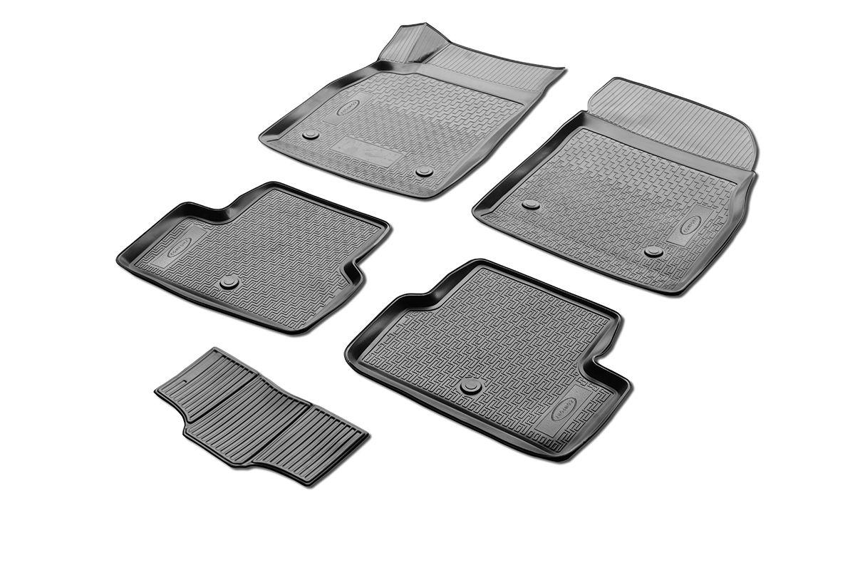 Коврики салона Rival для Chevrolet Cruze (SD, HB, WAG), c перемычкой, полиуретан11003001Прочные и долговечные коврики Rival в салон автомобиля, изготовлены из высококачественного и экологичного сырья, полностью повторяют геометрию салона вашего автомобиля.- Надежная система крепления, позволяющая закрепить коврик на штатные элементы фиксации, в результате чего отсутствует эффект скольжения по салону автомобиля.- Высокая стойкость поверхности к стиранию.- Специализированный рисунок и высокий борт, препятствующие распространению грязи и жидкости по поверхности коврика.- Перемычка задних ковриков в комплекте предотвращает загрязнение тоннеля карданного вала.- Произведены из первичных материалов, в результате чего отсутствует неприятный запах в салоне автомобиля.- Высокая эластичность, можно беспрепятственно эксплуатировать при температуре от -45 ?C до +45 ?C.Уважаемые клиенты!Обращаем ваше внимание,что коврики имеет формусоответствующую модели данного автомобиля. Фото служит для визуального восприятия товара.