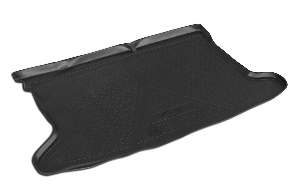 Коврик багажника Rival для Mazda 6 2012-, полиуретан94672Коврик багажника Rival позволяет надежно защитить и сохранить от грязи багажный отсек вашего автомобиля на протяжении всего срока эксплуатации, полностью повторяют геометрию багажника.- Высокий борт специальной конструкции препятствует попаданию разлившейся жидкости и грязи на внутреннюю отделку.- Произведены из первичных материалов, в результате чего отсутствует неприятный запах в салоне автомобиля.- Рисунок обеспечивает противоскользящую поверхность, благодаря которой перевозимые предметы не перекатываются в багажном отделении, а остаются на своих местах.- Высокая эластичность, можно беспрепятственно эксплуатировать при температуре от -45 ?C до +45 ?C.- Изготовлены из высококачественного и экологичного материала, не подверженного воздействию кислот, щелочей и нефтепродуктов. Уважаемые клиенты!Обращаем ваше внимание,что коврик имеет формусоответствующую модели данного автомобиля. Фото служит для визуального восприятия товара.