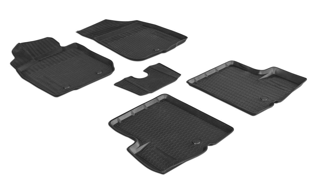 Коврики салона Rival для Renault Duster (2WD) 2010-2015, c перемычкой, полиуретанDH2400D/ORПрочные и долговечные коврики Rival в салон автомобиля, изготовлены из высококачественного и экологичного сырья, полностью повторяют геометрию салона вашего автомобиля.- Надежная система крепления, позволяющая закрепить коврик на штатные элементы фиксации, в результате чего отсутствует эффект скольжения по салону автомобиля.- Высокая стойкость поверхности к стиранию.- Специализированный рисунок и высокий борт, препятствующие распространению грязи и жидкости по поверхности коврика.- Перемычка задних ковриков в комплекте предотвращает загрязнение тоннеля карданного вала.- Произведены из первичных материалов, в результате чего отсутствует неприятный запах в салоне автомобиля.- Высокая эластичность, можно беспрепятственно эксплуатировать при температуре от -45 ?C до +45 ?C.Уважаемые клиенты!Обращаем ваше внимание,что коврики имеет формусоответствующую модели данного автомобиля. Фото служит для визуального восприятия товара.