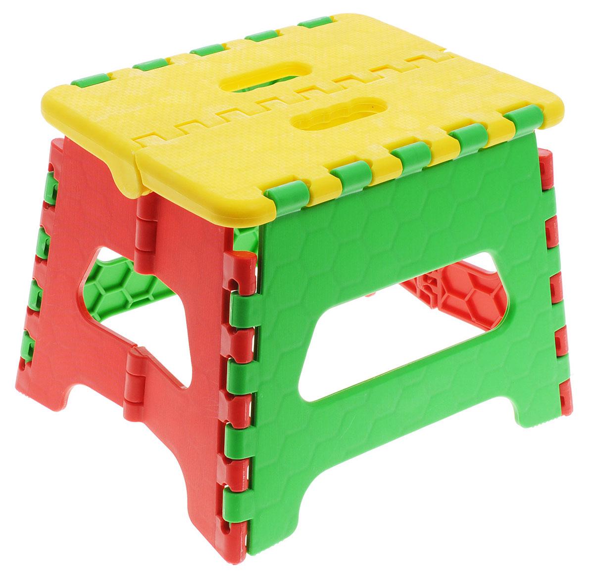 Art Moon Стульчик-подставка Maja складной цвет желтый зеленый красныйМ 2289_бюризовыйСкладной стульчик-подставка Art Moon Maja станет незаменимым аксессуаром для игр ребенка как в помещении, так и на открытом воздухе.Легкий, но очень прочный стульчик обеспечивает удобство и комфорт ребенку. Изделие имеет устойчивую конструкцию.Яркие цвета, компактный размер в сложенном виде, ручка для переноски - все это идеально выделяет его из всех других детских стульчиков.