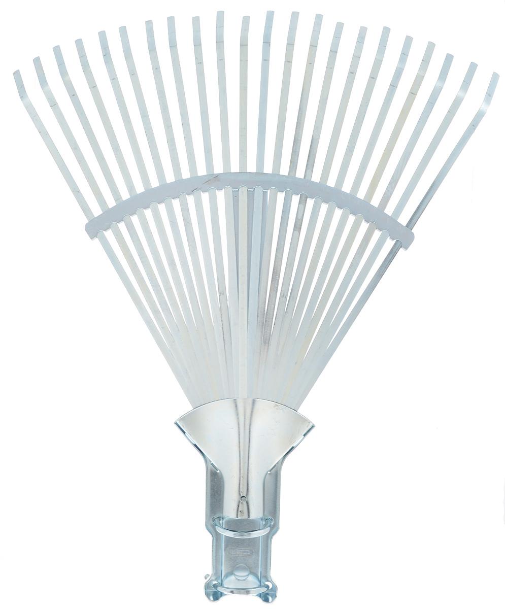 Грабли веерные Raco, регулируемые, 22 зуба, ширина 30-45 см. 4231-53/7364208-53/133BРегулируемые веерные грабли Raco изготовлены из высококачественной стали и предназначены для работы в саду или на приусадебном участке. Такими граблями удобно сгребать листья, мусор и сорняки. Благодаря большому количеству зубцов, расположенных по принципу веера, уборка территории будет сделана в короткие сроки. Черенок в комплект не входит. Ширина граблей: 30-45 см. Количество зубьев: 22.