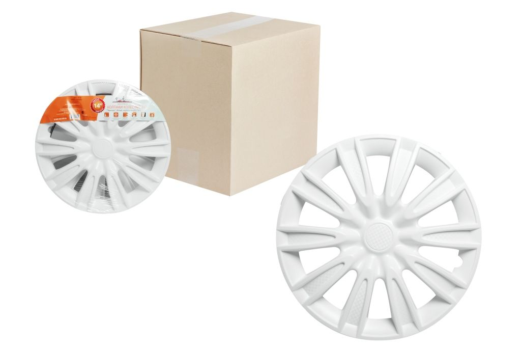 Колпаки колесные Airline Торнадо, цвет: белый, 15, 2 шт. AWCC-15-081004900000360Колпаки колесные Airline Торнадо изготовлены из ударопрочного полистирола, имеют модную текстуру, имитирующую карбон, покрашены в популярные цвета, а также стойкие к повышенным и пониженным температурам. Колпаки снабжены надежными универсальными креплениями, позволяющими обеспечивать равномерное распределение давления на все защелки. Колпаки Airline защитят тормозную систему от грязи, соли и реагентов, скроют изъяны штампованных дисков, тем самым украсив ваш автомобиль.