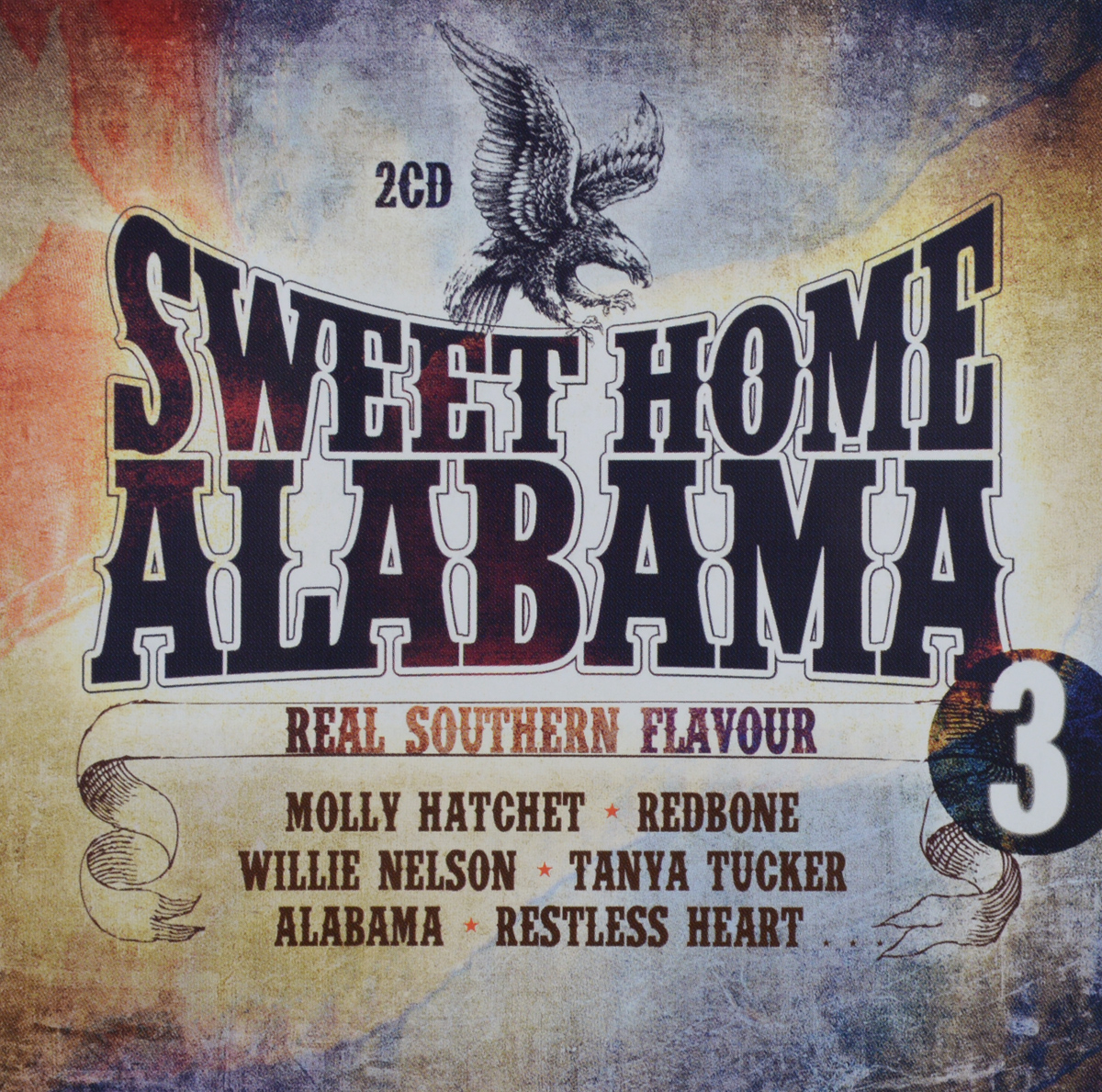 Sweet Home Alabama. Vol. 3. Southern Flavour (2 CD)