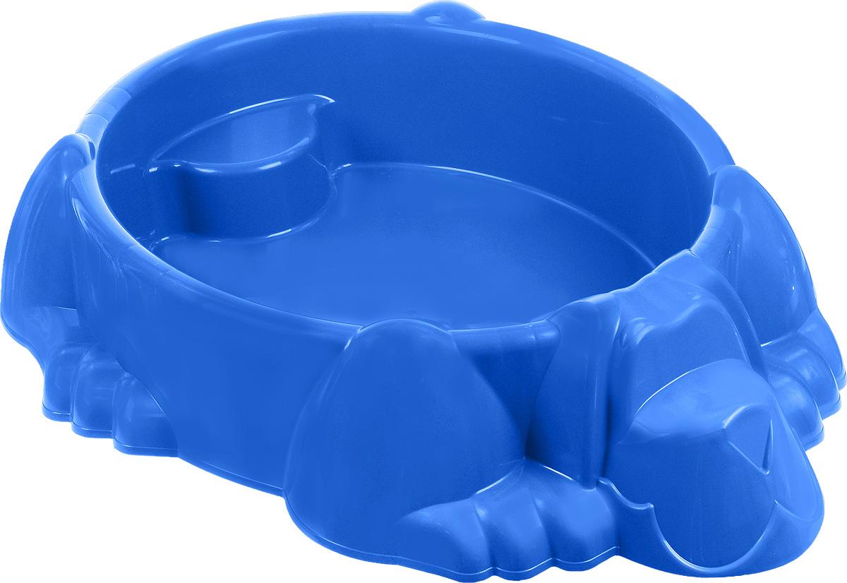 Marian Plast Бассейн-песочница Собачка с покрытием - Игры на открытом воздухе