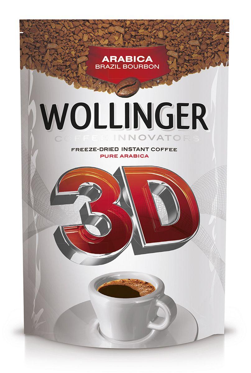 Wollinger кофе растворимый, 75 г0120710Wollinger - натуральный сублимированный кофе, который создан из сортов арабики высшего качества Arabica Brazil Bourbon и Arabica Santos категории UNQ – Unusual Good Quality. Уникальная технология производства дает возможность сочетать высочайшее качество с приемлемой ценой. Кофе обладает сбалансированным богатым вкусом и непременно понравится каждому ценителю напитка!